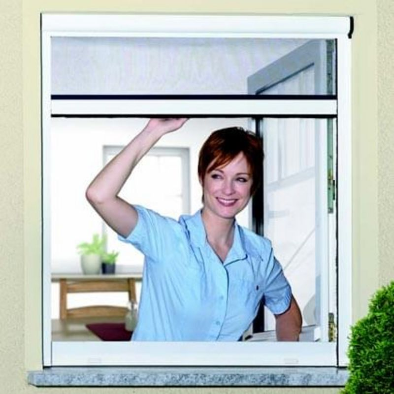 Insect protection roller blind