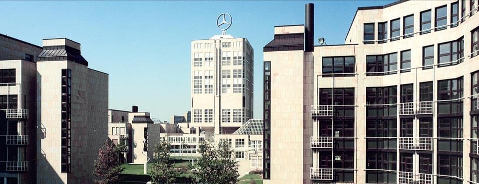 Referenz: Daimler AG Hauptverwaltung, Stuttgart