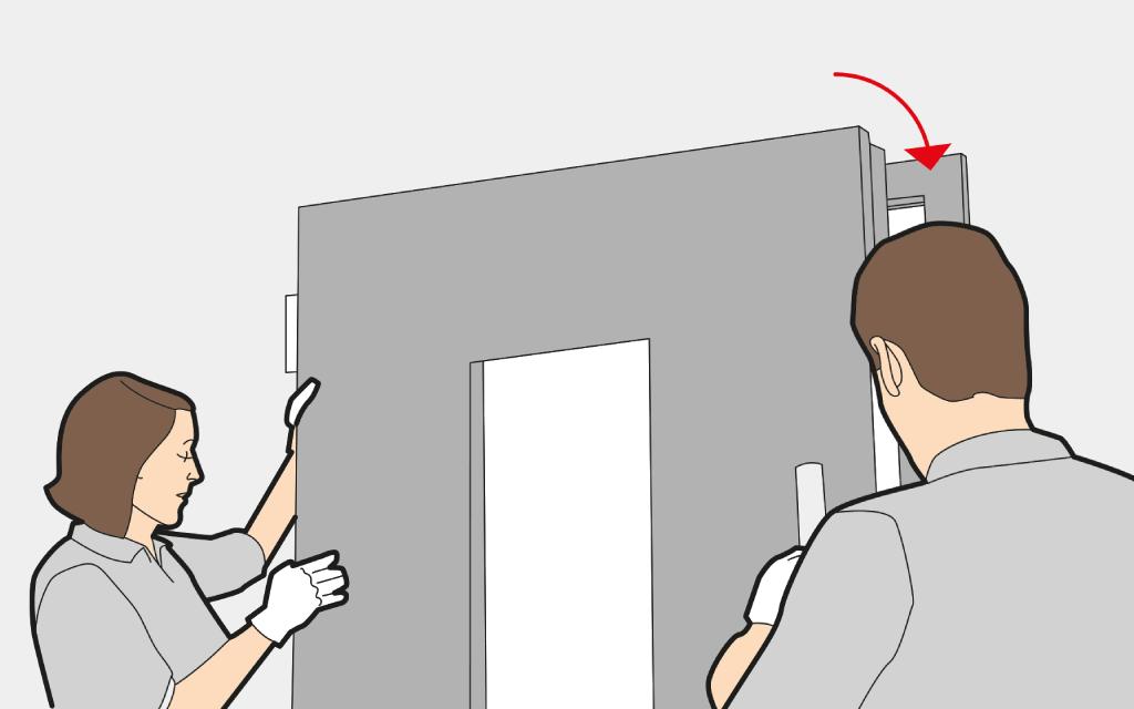 Fit a front door