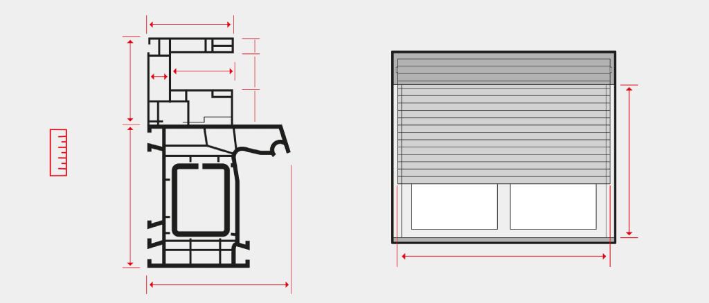 How to measure window roller shutters - Measure exterior window shutters ...