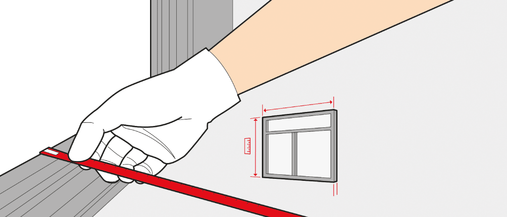 How to measure a window size