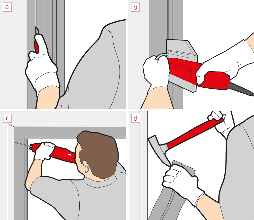 Remove a patio door
