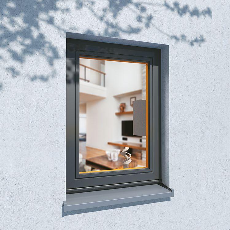 Aluclad Wood Window Exterior View