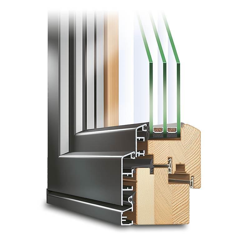 Composite Window Profile ECO Idealu Classicline