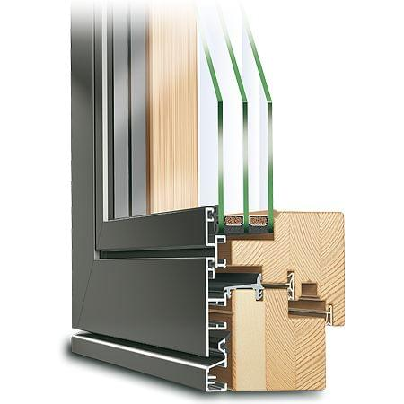 Composite French Door ECO Plano Profile Section