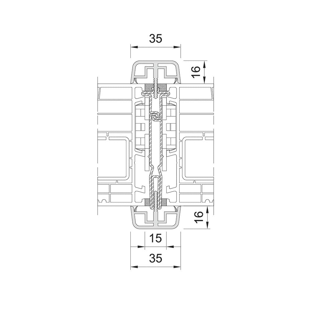 Static coupling 1 -85mm