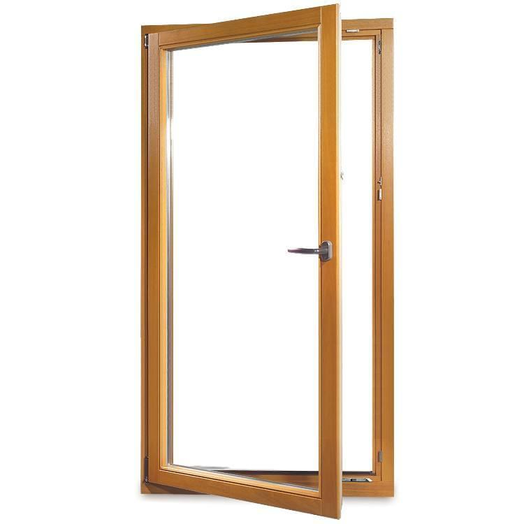 Wooden Patio Door
