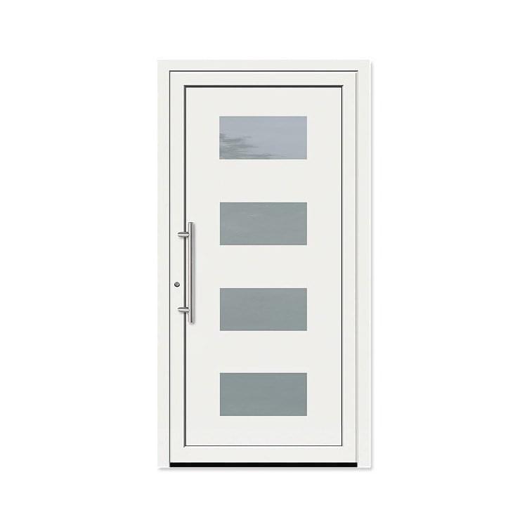 Albuquerque model aluminum front doors for Front door models