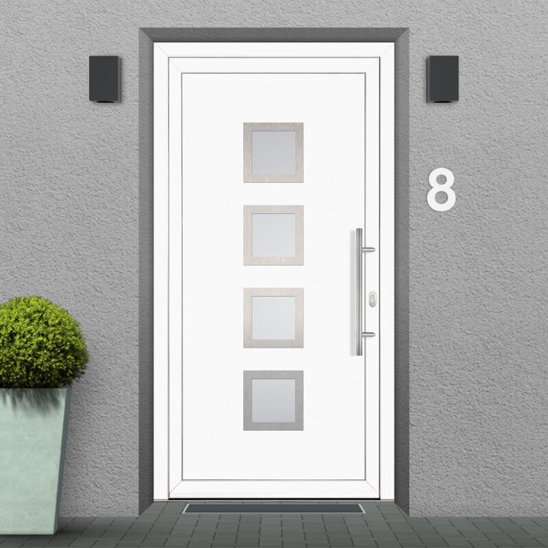 Fitting Example for uPVC Front Door Model Cincinnati