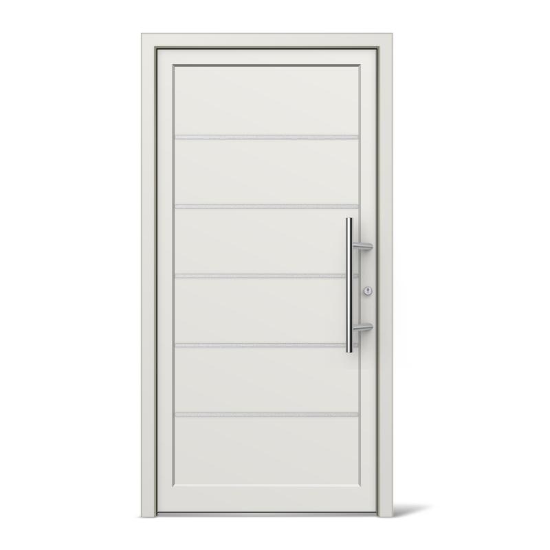 Kitchener Model Vinyl uPVC Front Doors | windows24.com