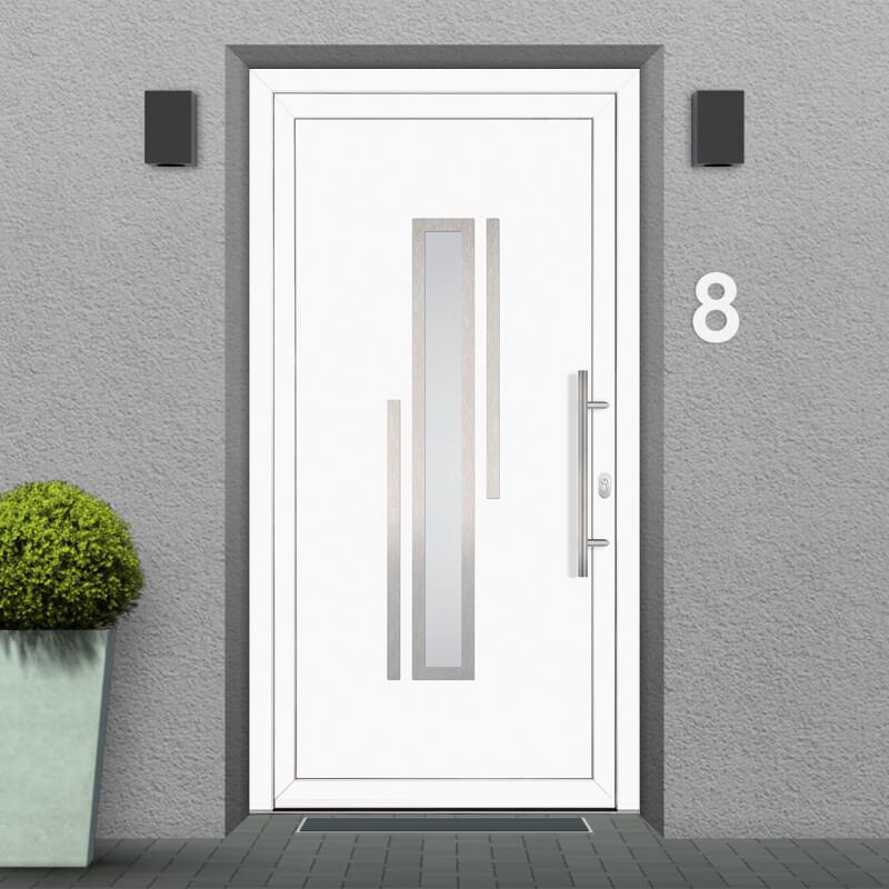 Fitting Example for uPVC Front Door Model Minneapolis