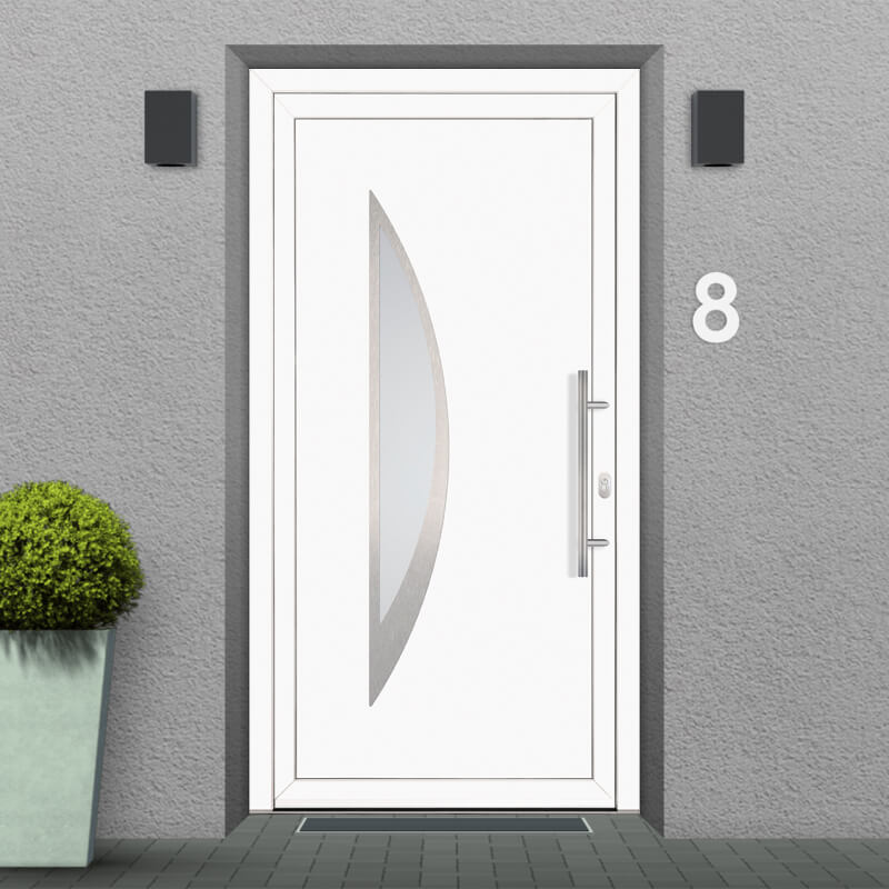Fitting Example for uPVC Front Door Model Orlando