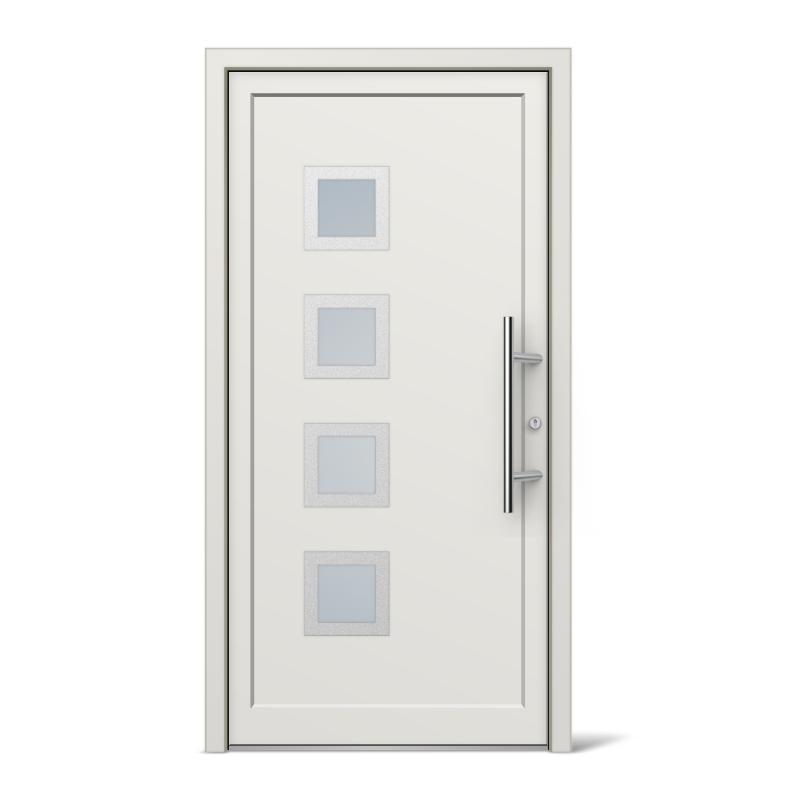 St louis model vinyl upvc front doors for Front door models
