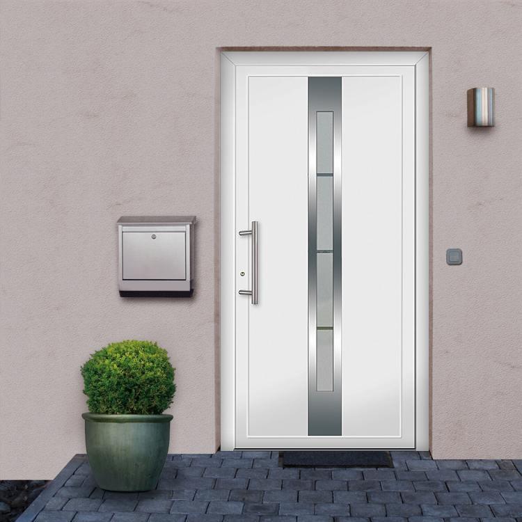 Auckland model aluminum front doors for Front door models
