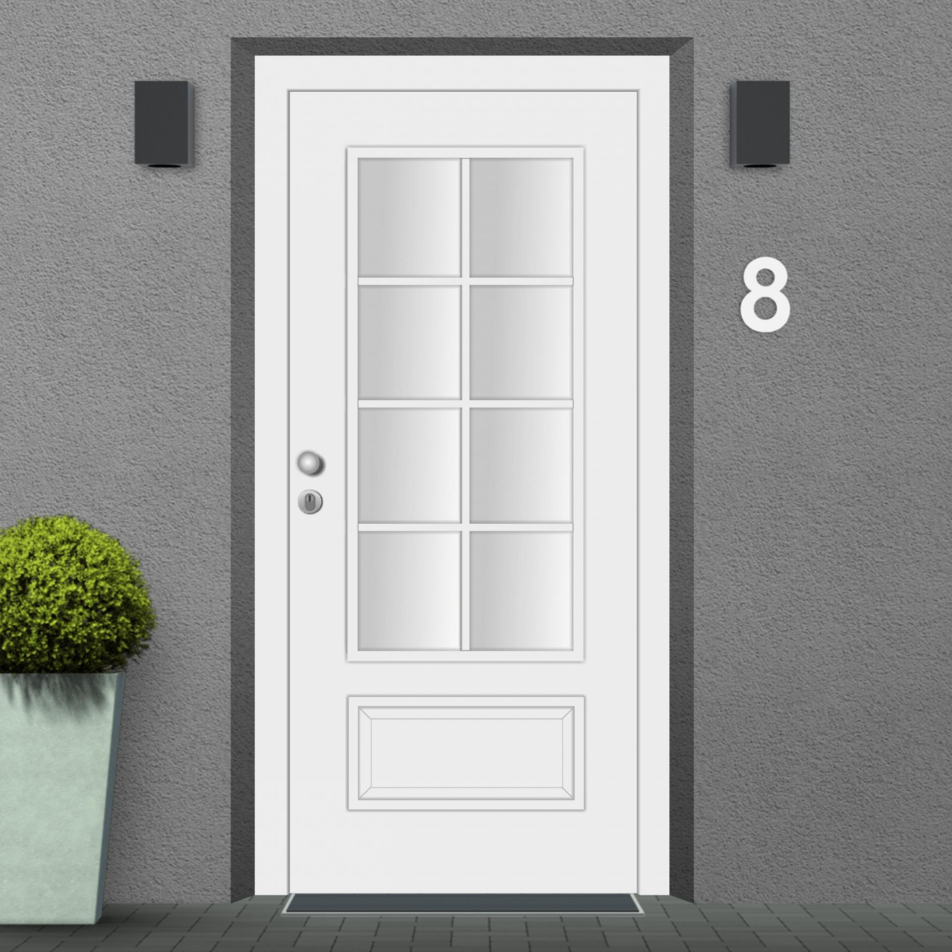 Mounting Example of a San Francsico Front Door