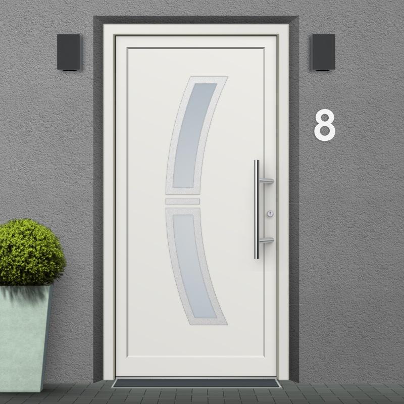 Mounting Example of a Memphis uPVC Exterior Door