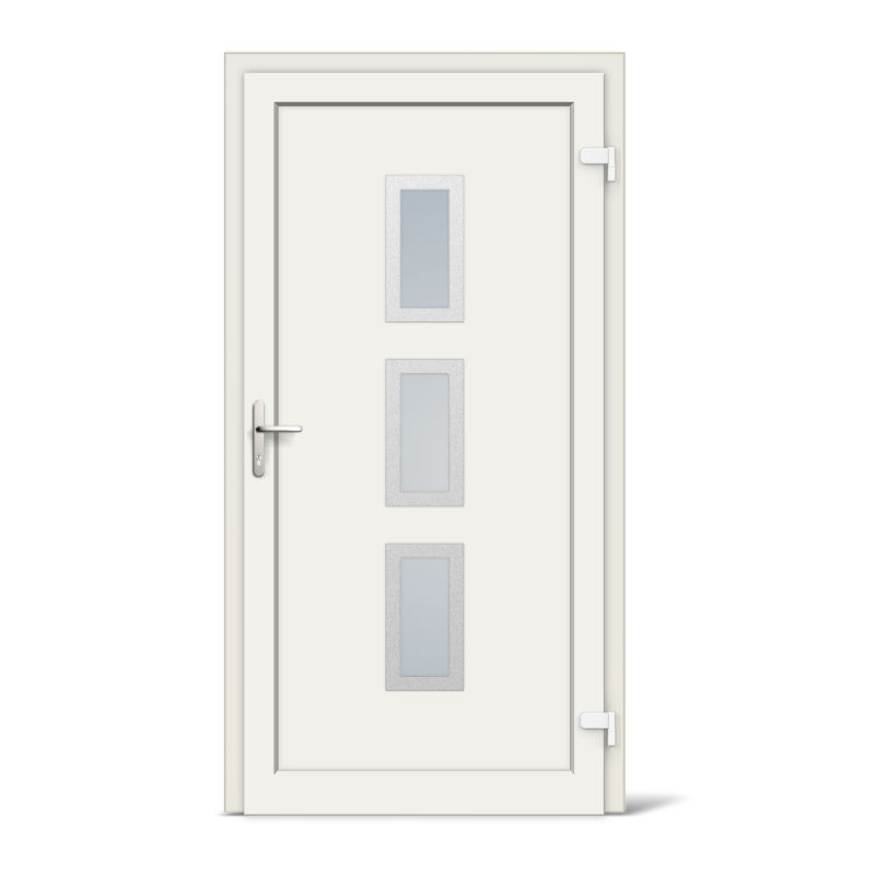Bristol model vinyl upvc front doors for Upvc french doors bristol