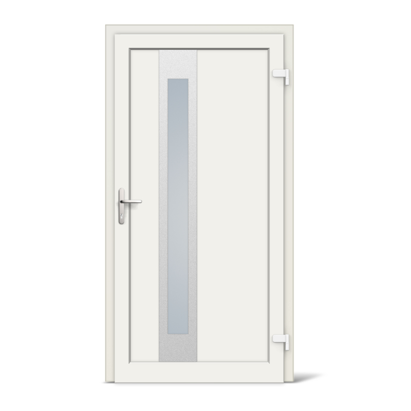 Sacramento Model Vinyl uPVC Front Doors | windows24.com
