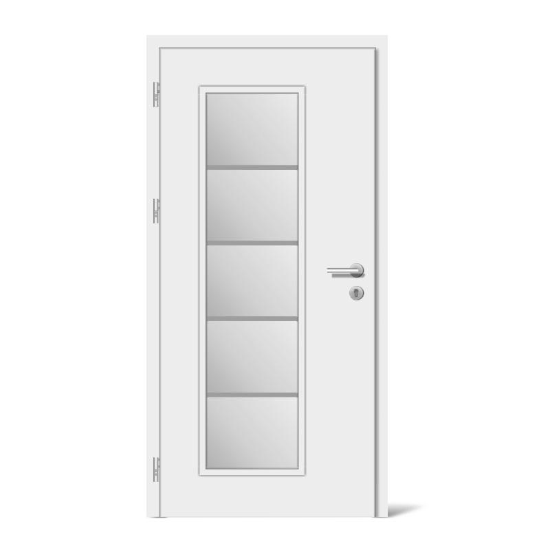 Wood Front Door Model Houston