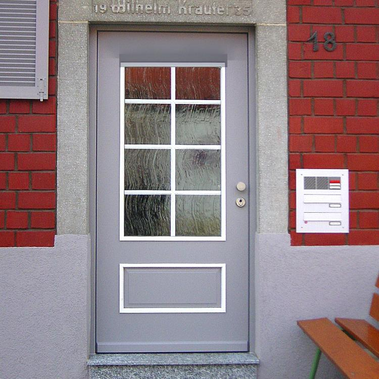 San Francisco Wood Front Door Installed