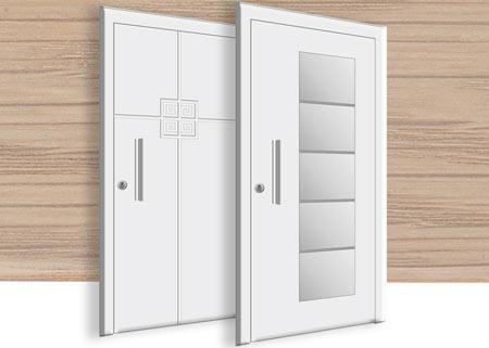 wood front doors