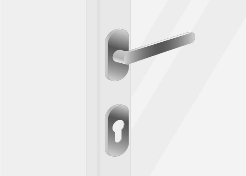 Internal handles for front doors