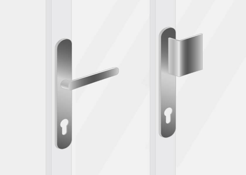 External handles