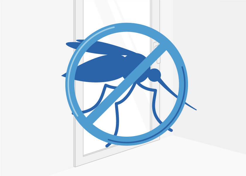 Patio doors and insect protection