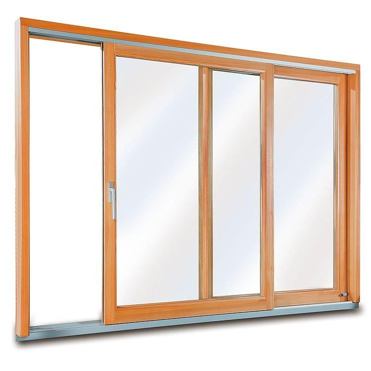 Wood Patio Door