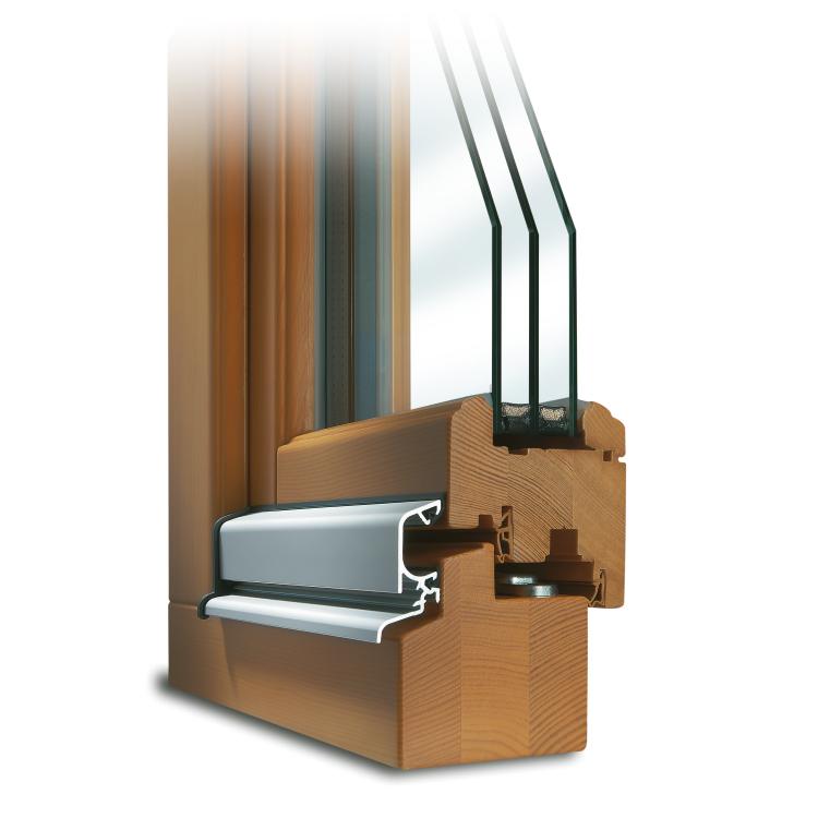 Wooden Patio Door Profile Rustic IV 68