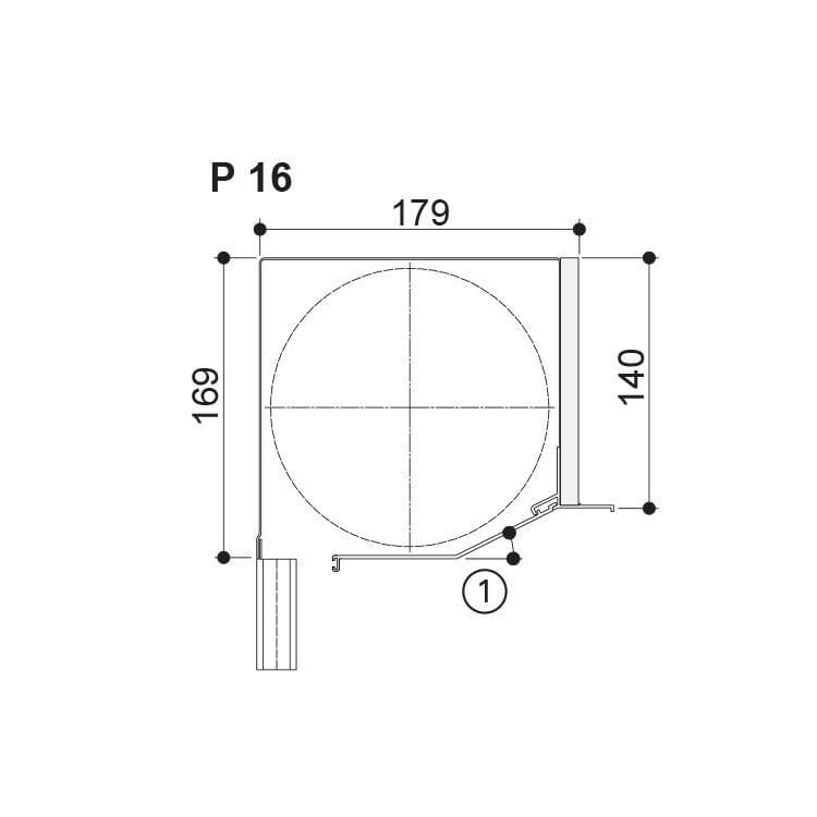 Nova Putz - 169 (up to Maximum Height 2450 mm)