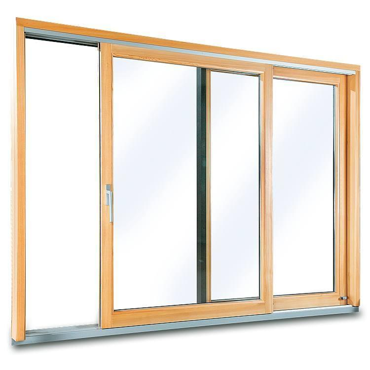 Aluminum Clad Wood Sliding Doors Windows24