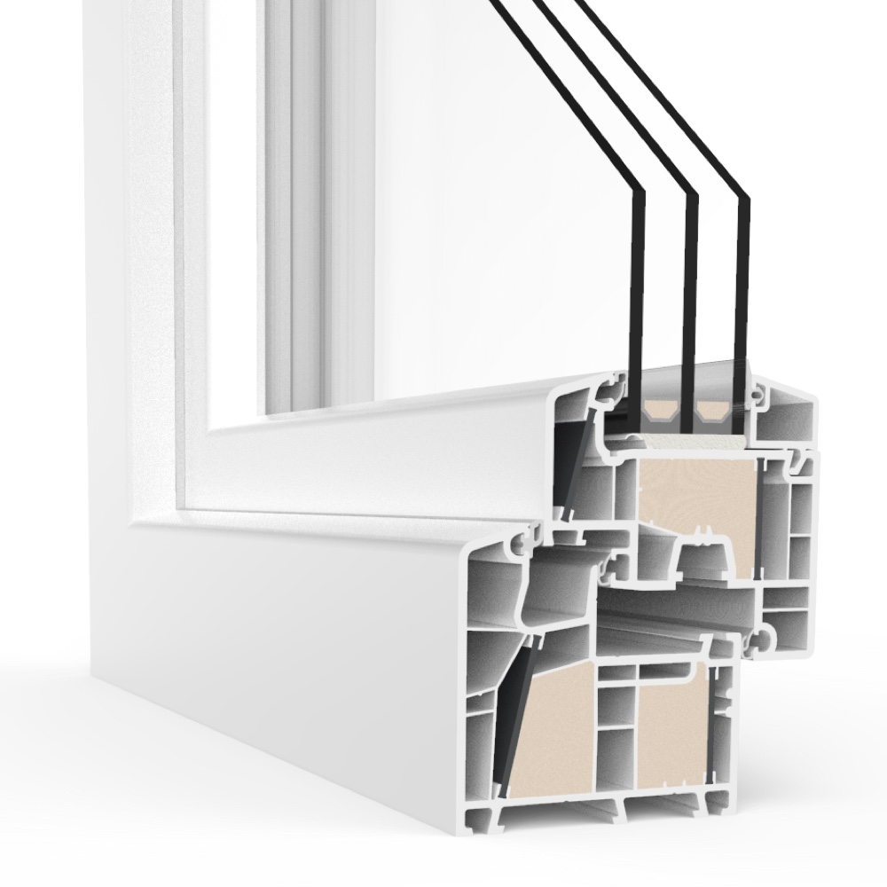 Aluplast Energeto 8000ED uPVC Window