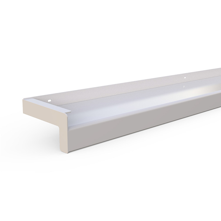 Aluminum exterior window sills