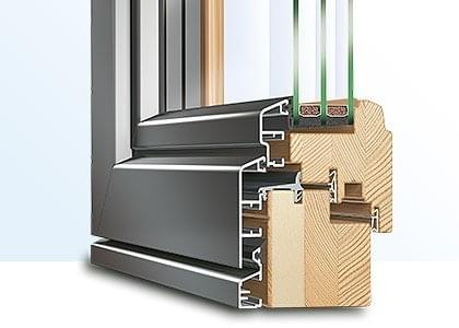 Composite window profile