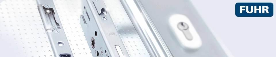 Aluminium front door lock