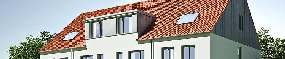 Large dormer with windows