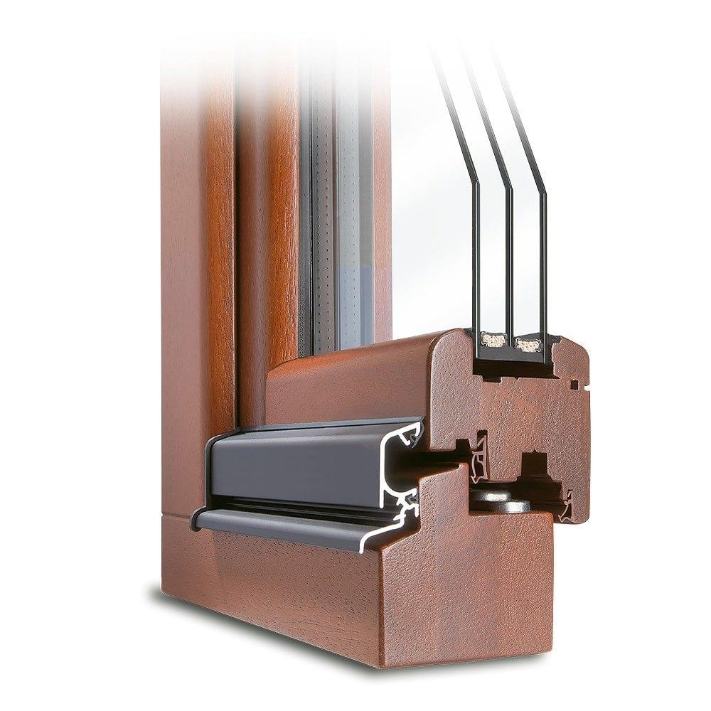 Meranti Wood window
