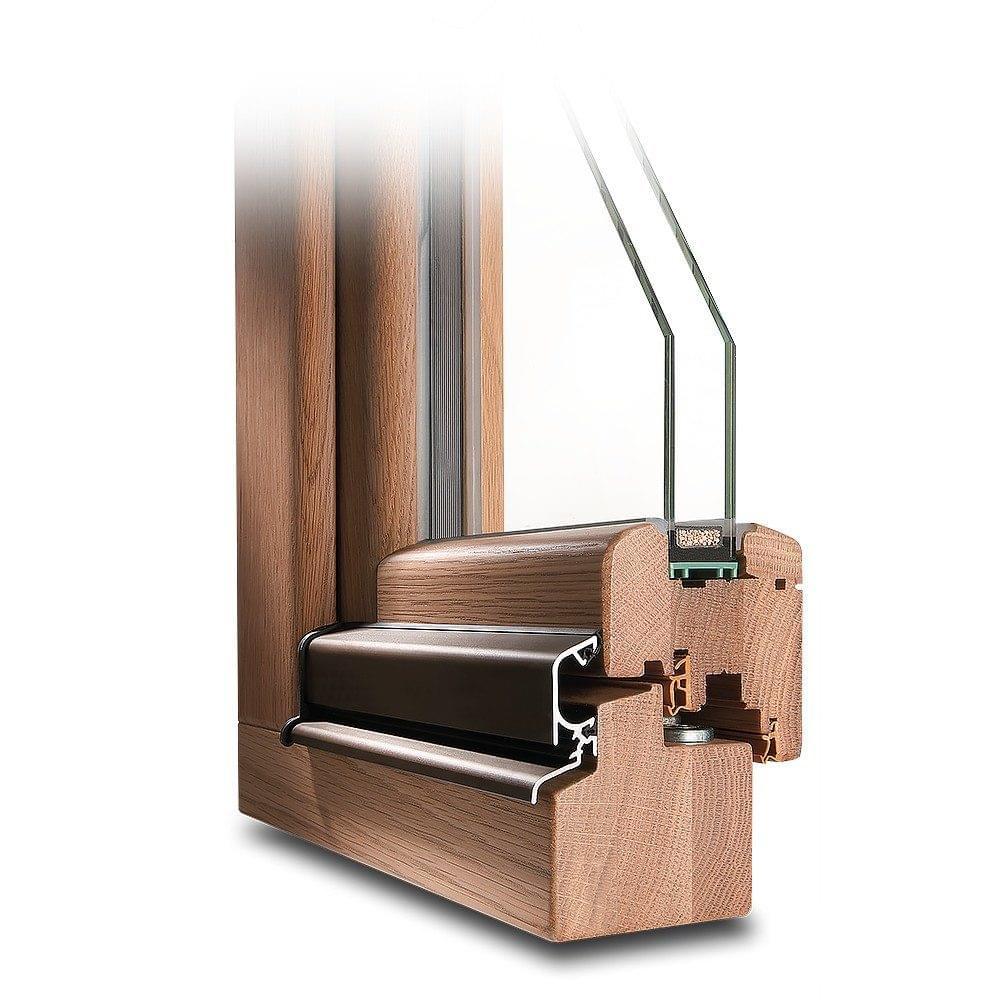 Oak Wood window
