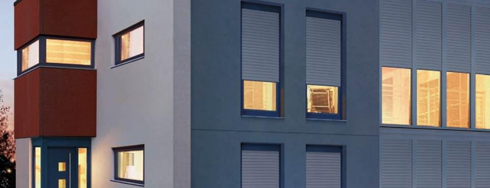 Built in roller shutters - Electric window shutters interior ...