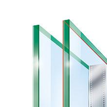 Double glazing Ug 1,1